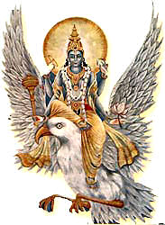 Garuda - the carrier of Lord Visnu