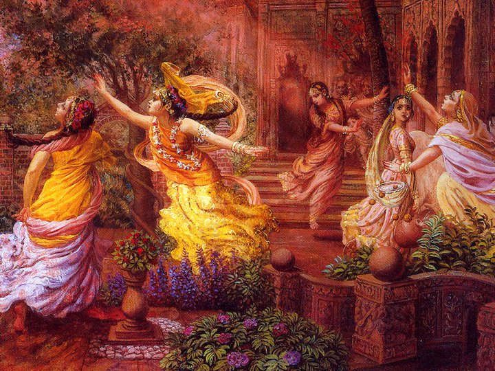 Gopis Search For Shri Krishna