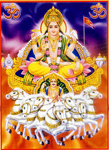 Surya The Sun-god